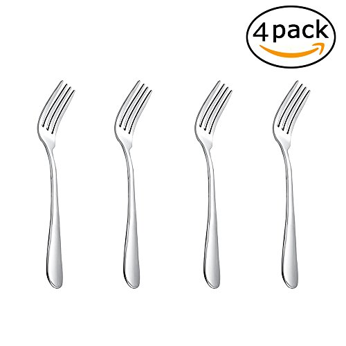 MIU COLOR Dinner Fork, Steak Tableware, made of Stainless Steel, 4 pieces