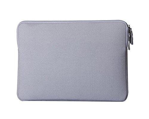 Maletin Portatil Funda Para Macbook Caso Ultrabook Netbook Con Bolsa Del Ratón Gray