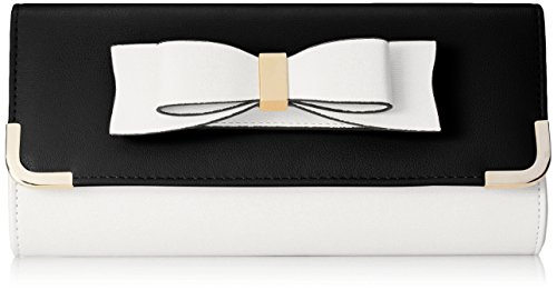 Aldo Than Clutch WhiteBlack One Size
