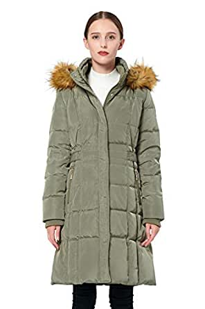 Amazon.com: Orolay Women's Puffer Down Coat Winter Jacket
