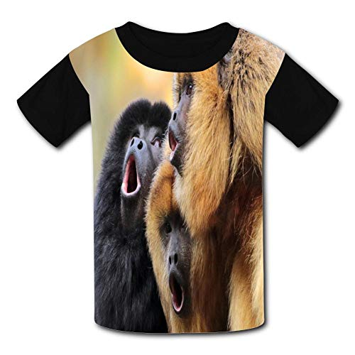 The Cry Of Orangutans Child Short Sleeve Fashion T-Shirt Of Boys And Girls Xs
