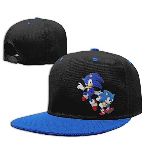 MDClothI Boys&Girls Hats Sonic Hedgehog Children's Contrast Hip Hop Baseball Cap - Sonic Single Gama