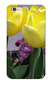1d0464c3364 New Premium Flip Case Cover Yellow Tulips Skin Case For Iphone 6 As Christmas's Gift