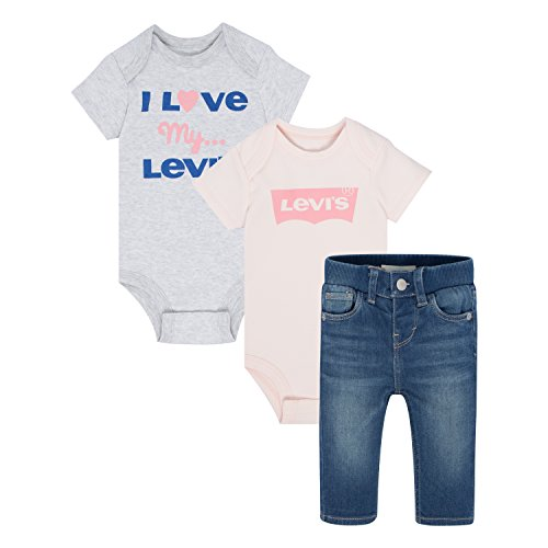 Levis Baby Girls My First Jeans Box Set