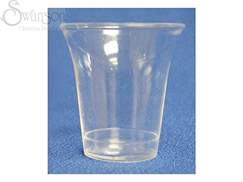 B-Kind 100ct Clear Disposable Communion Cups Set