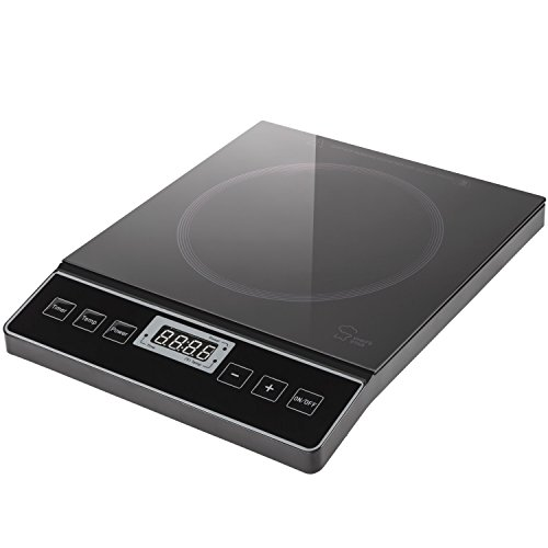 Chef's Star 1800W Portable Induction Cooktop Countertop Burner - 120V / 60Hz - Black by Chef's Star (Image #4)