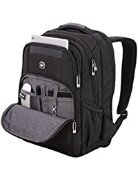 SwissGear Scansmart Backpack - Look Refined and Classy in this Laptop Carry-On. Incl. Trolley Strap