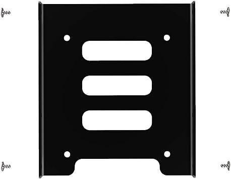 Glotrends - Soporte de Metal para Disco Duro SSD de 2,5 a 3,5 ...