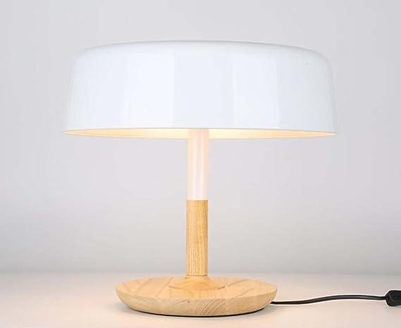 Lampada da tavolo a fungo moderna lampada da tavolo in ferro