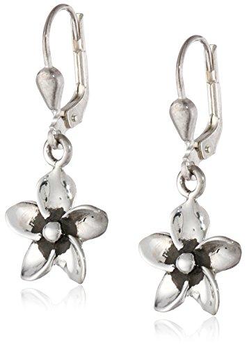 Zina Sterling Silver Flower Ea