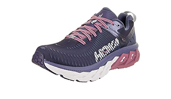 4ba47da6ee3e8 HOKA ONE ONE Womens Arahi 2 Marlin/Blue Ribbon Running Shoe - 7