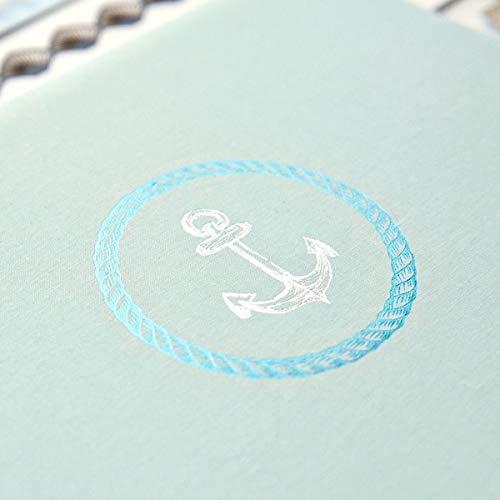 12x12 Seafoam Maritime Album Cover by Creative Memories