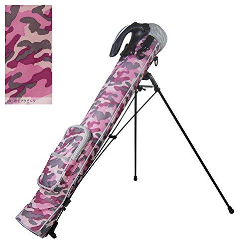 Azrof Golf Women's Half Size Club Case Caddie Stand Bag, Pink Camo by Azrof Golf (Image #1)