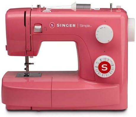 Singer MC Simple 3223 Máquina de coser, Rosa (Pink Edition): Amazon.es: Hogar