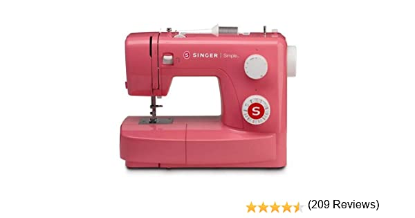 Singer MC Simple 3223 Máquina de coser, Rosa (Pink Edition ...