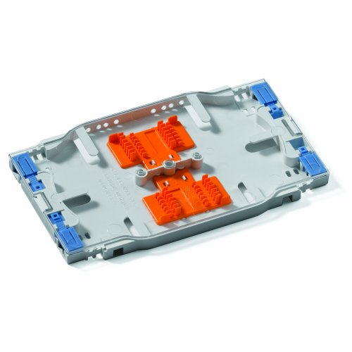 Leviton T5PLS-24F Injection Molded High Density Splice Tray, Heat Shrink Style (accepts standard sleeves), up to 24 Fiber Splicing