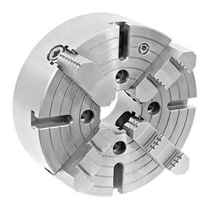 Jaws Chuck Bison (BISON 4 Jaw Plain Back Independent Lathe Chuck - Number OF JAWS: 4 CHUCK SIZE: 10