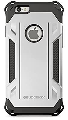 BUDDIBOX 2-In-1 Corner Series Air Cushion Technology Case with Kickstand for iPhone 6 - from BUDDIBOX
