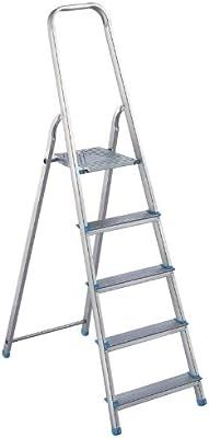 Altimat 1170205 - Escalera 0 hogar 5 pasos 3 estrellas: Amazon.es: Bricolaje y herramientas