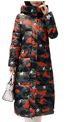 4 Long Coat Hooded EKU Thicken Down Women Jacket Maxi Outwear 7xUqz7Y