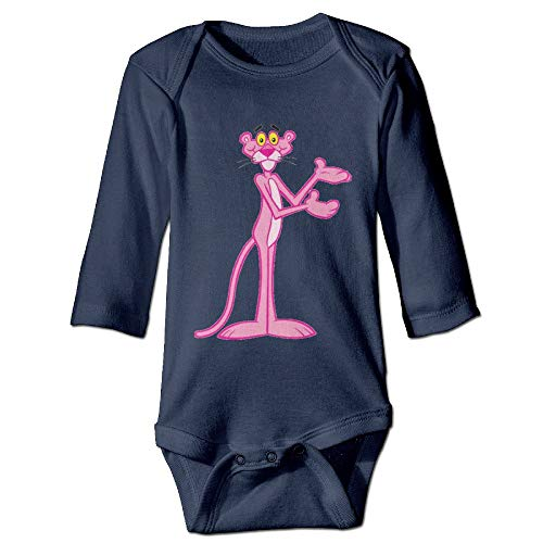 Mermaid ATS Baby 100% Cotton Long Sleeve Onesies Toddler Bodysuit The Pink Panther Baby Onesies -