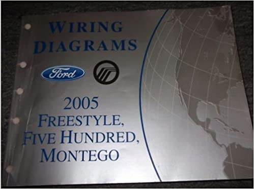 2005 ford freestyle five hundred 500 montego electrical wiring diagram  manual: ford: amazon com: books