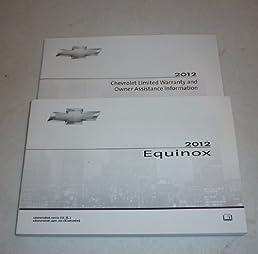2012 chevrolet equinox owners manual chevrolet amazon com books rh amazon com 2013 Equinox Owner's Manual 2012 Equinox Repair Manual