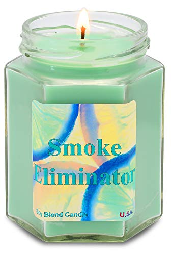 Smoke Eliminator Soy Candle | Tobacco \ Cannabis | ()