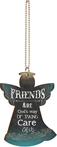 friends-are-gods-way-of-taking-care-of-us-angel-chalkboard-look-wood-car-charm