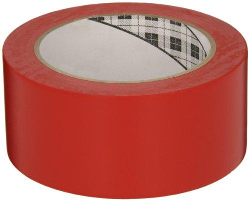 3M General Purpose Vinyl Tape 764 Red, 2 in x 36 yd 5.0 mil