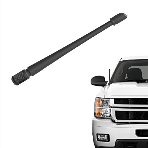 Rydonair Antenna Compatible with Chevy Silverado & GMC Sierra/Denali | 7 inches Flexible Rubber Antenna Replacement | Designed for Optimized FM/AM Reception ()