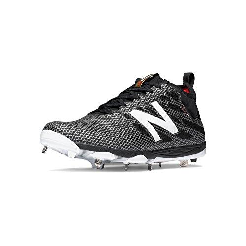 Metal Balance Cleat New LowCut 406 16 Silver Black Mens Baseball AIxHwqf
