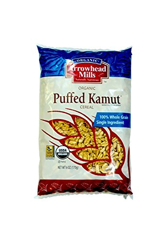Arrowhead Mills Organic Cereal Puffed Kamut-6 oz (2 Pack) ()