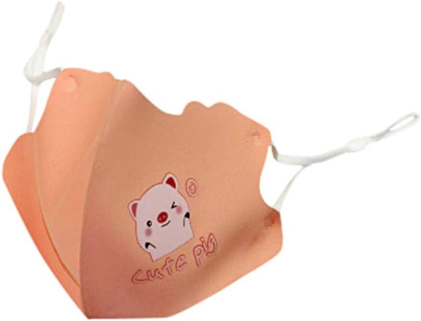 Reasoncool Mode Unisex Waschbare Anti Staub Ultraviolett Bedruckte Kinder H/ängendes Ohr Bandana Atmungsaktiv Sicherheit Sonnenschutz