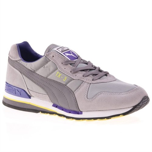 Puma TX de 3Limes Tone Gray/Steel Gray/Prism Violet Gris - gris