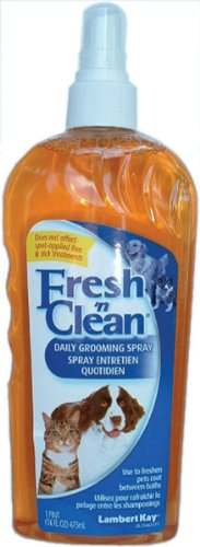 Fresh'n Clean Daily Pet Grooming Spray, 16-Ounce, My Pet Supplies
