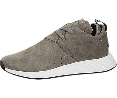 adidas Originals Men's NMD_C2 Sneaker, Simple Brown/Simple Brown/Black, 7 M (Simple Suede Sneakers)