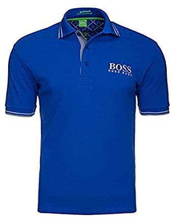Hugo Boss - Polo Paddy Pro para hombre (M, Azul): Amazon.es: Ropa ...