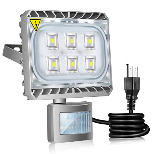 Plug In Motion Flood Light in US - 6