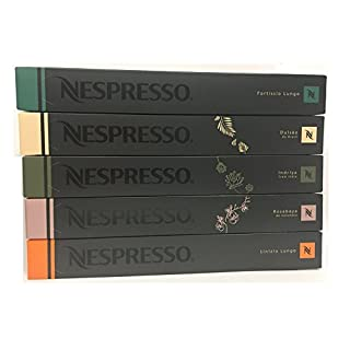 Nespresso OriginalLine Imported from EU: Luxury Mixed, 50 Capsules - NOT Compatible with Vertuoline