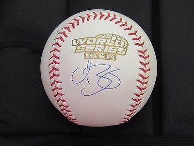 Curt Schilling Signed Ball - 2004 & 07 Wsc 2 Ws Baseballs - Steiner Sports Certified - Autographed Baseballs