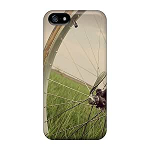 Luoxunmobile333 Cases Covers For Ipod Touch 4 - Retailer Packaging Bicycle Wheel Protective Cases