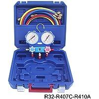 AGFRI Kit analizador 2 valvulas analogico manometros diam.