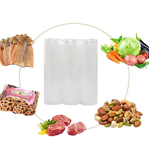WXLAA Vacuum Sealer Bags Household Food Packing Bag Commercial Grade Bag Rolls for FoodSaver 305m