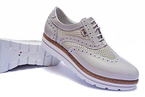 Donna Nero Giardini p717212d scarpe casual da in vernice tessuto col.num.