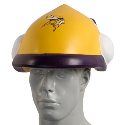 NFL Minnesota Vikings Foamhead (Hard Minnesota Hat Vikings)
