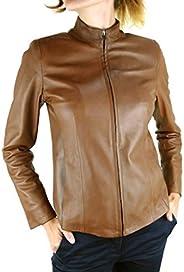 DDMilano Ladies Prime Leather Biker Jacket Women's Italian Designer
