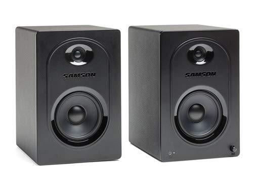 Samson Technologies Studio Monitor, Black, 5-Inch (SAM50)