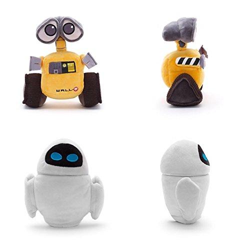 Disney WALL-E e EVA Minipeluche De Bolitas Set 18cm: Amazon.es: Juguetes y juegos