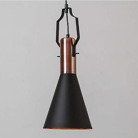 MSTAR Luminaire Suspension Vintage Rétro E27 Style Industriel en Métal  Lampe Pendante Lampe Plafonnier pour éclairage Cuisine Salle à manger Salon